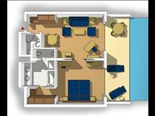 Aldemar Royal Olympian Suites: Suite SF Floor Plan