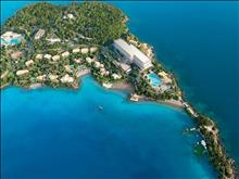 Grecotel Corfu Imperial Exclusive Resort: Private Kommeno Peninsula and Corfu Imperial aerial view