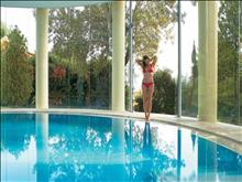 Grecotel Corfu Imperial Exclusive Resort: Elixir Beauty Spa light-filled indoor pool